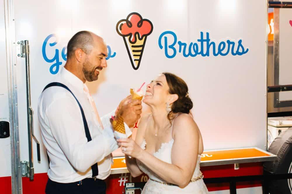 Lynlee Wolfe Castleton Farms Wedding Gelato Brothers Style